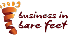 bare feet Logo